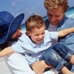 Семейный отдых на черном море.