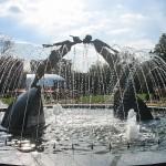 Памятник влюбленным в Харькове.