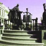 Памятник Казанове в Венеции.