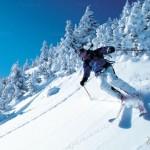 Горные лыжи в европе.