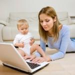 Как работать на дому с маленькими детьми